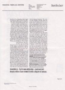 Статья в FINANCIAL TIMES